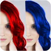 100+ Hair Color Changer 1.0