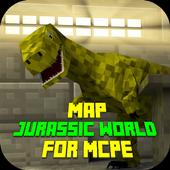 com.mapjurassicworldformcpe icon