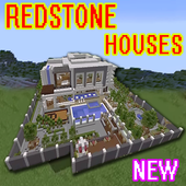 New redstone house map for mcpe 20.30.40