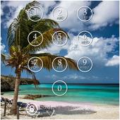 Beach Keypad Screen Lock 1.10