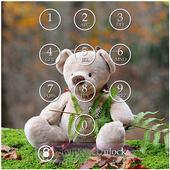 Teddy Bear Keypad Lock Screen 1.10