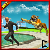 Angry Tiger in Crazy City 1.0