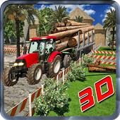 Cargo Log Truck Driver Offroad 1.0
