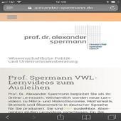 Prof. Spermann VWL-Lernvideos 1.0