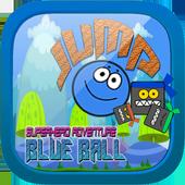 Blue ball jump superhero adventure 2.1