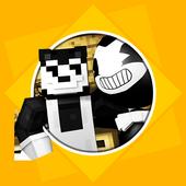 Bendy Horror Adventure Mini-game Minecraft MCPE 10.0