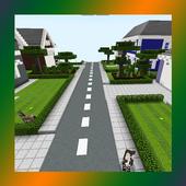 School and Neighborhood. Map for MCPE 31a.0