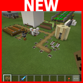 8 Automatic Farms MCPE map 1.0.1