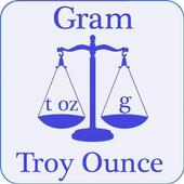Troy Ounce and Gram (t oz - g) Convertor 1.0
