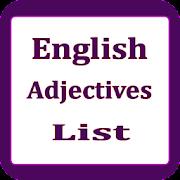 English Adjectives List 1.1