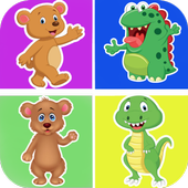 Animal pictures memory games 1.0