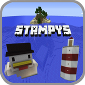 Stampys Lovely World Maps For MCPE 1.0.0