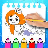 Mermaid coloring games 4.1.0