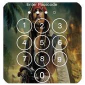 Pirates of the Caribbean Lock Screen 1.0