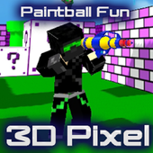 Paintball Fun 3D Pixel Online 1.10