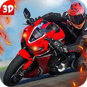 Traffic Highway Rider Bike Rush 1.0
