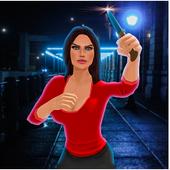 Virtual Street Fighter Mom