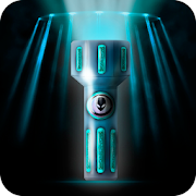 Alien Blue Flashlight - Shield for UFO and Light 2.0