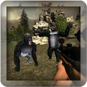 com.midnightgames.gorillahunter icon
