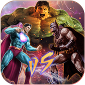Superhero Immortal gods Ring Battle Arena Fighters 1