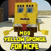 Mod Yellow Sponge for MCPE 1.0