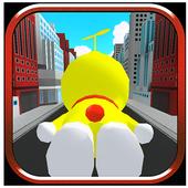 Yellow Doras Cat Copter 3D 1.1