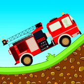 Fire Fighter Racing Hill Climb