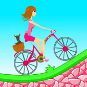Biker Girl Hill Climb Cycling 2.0