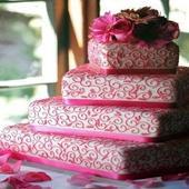 Tartas de boda de fondant