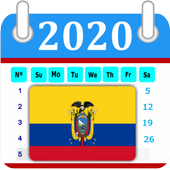 Ecuador 2018 Calendar-Holiday 2.0.0