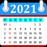 Calendar in English 2018 Free 2.0.0