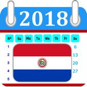 Paraguay 2018 Calendar-Holiday 1.0.0