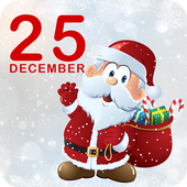 Christmas Countdown Theme Wallpaper Zipper Locker 1.1