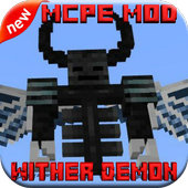 Wither Demon Mod for MCPE 1.0.1
