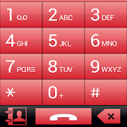 THEME FOR EXDIALER GLASS RED 1.0