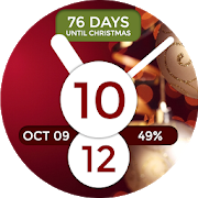 Christmas Counter Watch Face 1.0.3