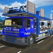 Police Robot Bike Truck Sim