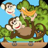 Monkey Skater Jump 1.0