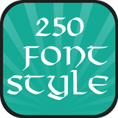 250 Font Style 2.0