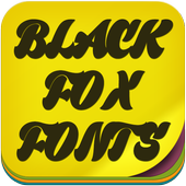 Black Fox Fonts 1.3