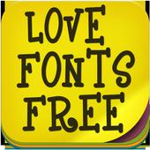 Love Fonts Free 1.3