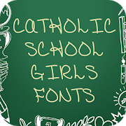 School Girls Font for FlipFont , Cool Fonts Text 26.0