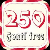 250 Fonts Free 1.0