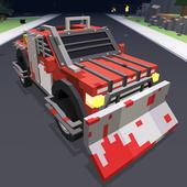 Blocky Zombie Highway 3