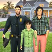 Virtual American police Family Dad: Family Games 1.0