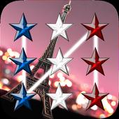Paris Pattern Lock Screen 1.0