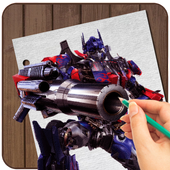 How to Draw Transformers Fast 1.0