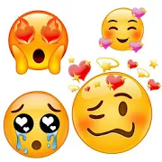 💕😍Love emoticons and stickers for whatsapp 2.5.3
