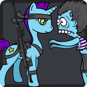 Candy Pony vs Zombies