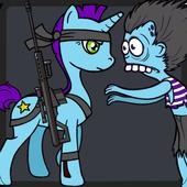 Candy Pony vs Zombies